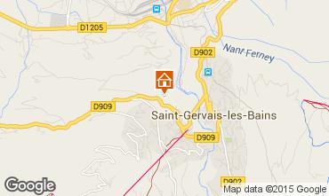Mapa Saint-Gervais-les-Bains Apartamento 79983