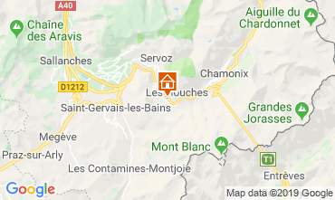 Mapa Chamonix Mont-Blanc Estudio 117797