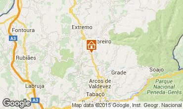 Mapa Arcos de Valdevez Estudio 22095