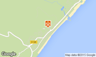 Mapa Narbonne plage Villa 9173