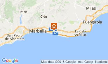 Mapa Marbella Villa 115595