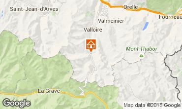 Mapa Valloire Apartamento 3378