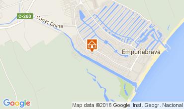 Mapa Ampuriabrava Villa 102619