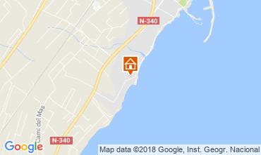 Mapa Vinaroz Apartamento 66991