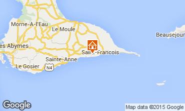 Mapa Saint Francois Villa 81102