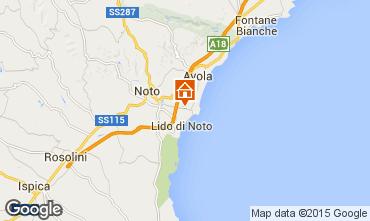 Mapa Noto Villa 97453