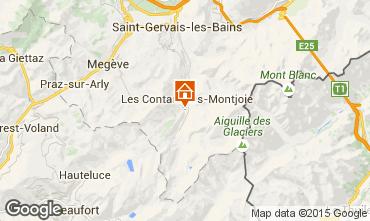 Mapa Les Contamines Montjoie Apartamento 21303