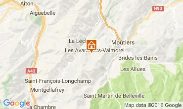 Mapa Valmorel Apartamento 73329