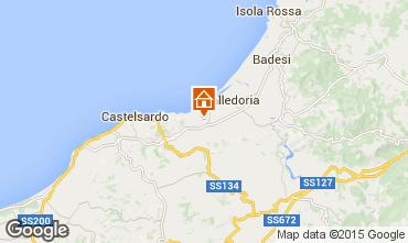 Mapa Valledoria Apartamento 69703