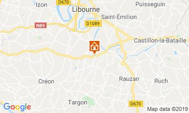 Mapa Burdeos Casa rural 118314