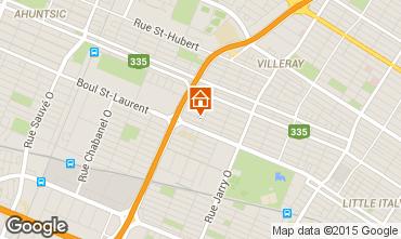 Mapa Montreal Apartamento 66125