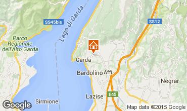 Mapa Garda Villa 61113