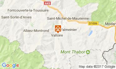 Mapa Valloire Apartamento 3411