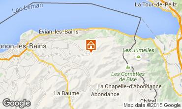 Mapa Bernex Chalet 4880