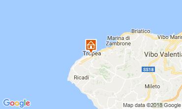 Mapa Tropea Apartamento 113233
