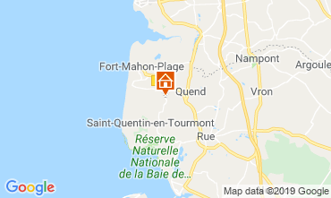 Mapa Quend Plage Mobil home 112468