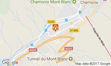 Mapa Chamonix Mont-Blanc Apartamento 647