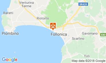 Mapa Follonica Apartamento 116727