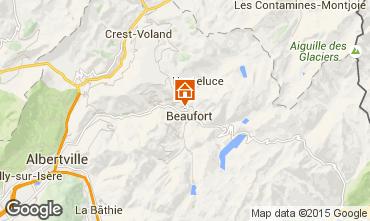 Mapa Areches Beaufort Apartamento 16073