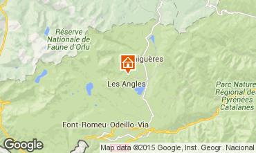 Mapa Les Angles Casa rural 4819