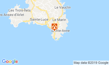 Mapa Sainte Anne (Martinique) Apartamento 60946
