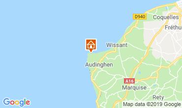 Mapa Audinghen Villa 102925