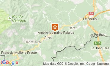 Mapa Amélie-Les-Bains Estudio 106653