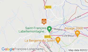Mapa Saint François Longchamp Apartamento 74184