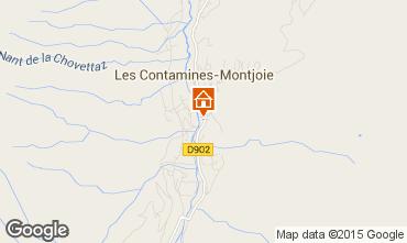 Mapa Les Contamines Montjoie Apartamento 90508