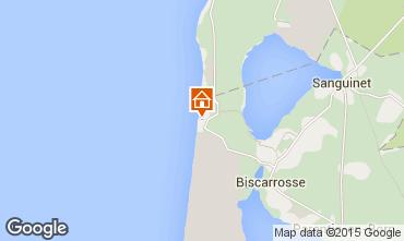 Mapa Biscarrosse Villa 22968