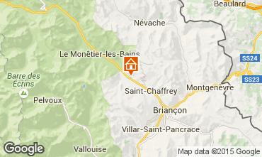 Mapa Serre Chevalier Apartamento 58839