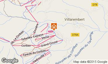 Mapa Le Corbier Estudio 40284