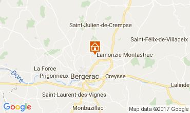 Mapa Bergerac Casa rural 107715