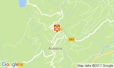 Mapa Aussois Apartamento 111552