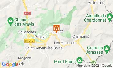 Mapa Chamonix Mont-Blanc Estudio 93266
