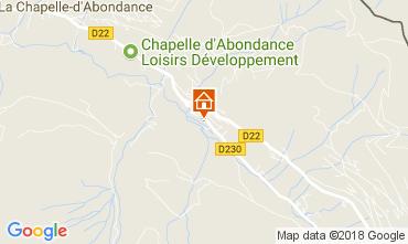 Mapa La Chapelle d'Abondance Chalet 61959