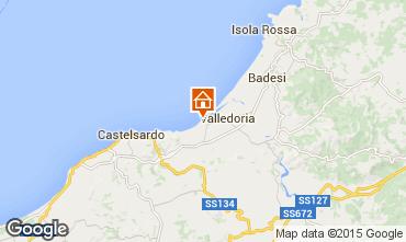 Mapa Valledoria Apartamento 56409