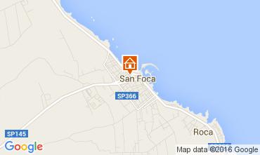 Mapa San Foca Apartamento 90834