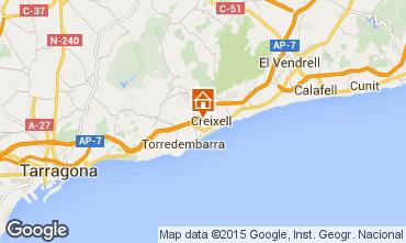 Mapa Creixell Villa 76673