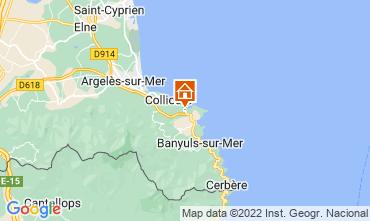 Mapa Port Vendres Apartamento 107179