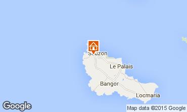 Mapa Sauzon Casa rural 27025