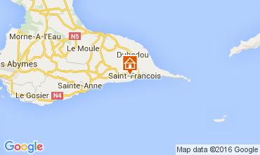 Mapa Saint Francois Villa 99855