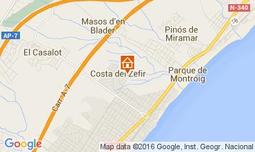 Mapa Miami Playa Apartamento 56609