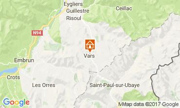 Mapa Vars Apartamento 59229