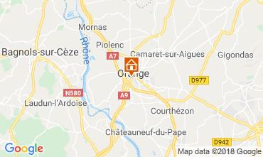 Mapa Orange Villa 117405