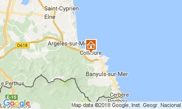 Mapa Collioure Apartamento 113025