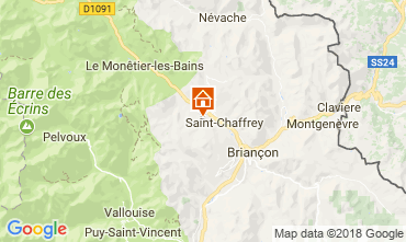 Mapa Serre Chevalier Chalet 114319