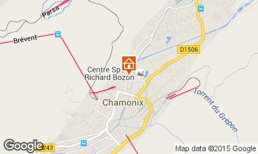 Mapa Chamonix Mont-Blanc Apartamento 28457