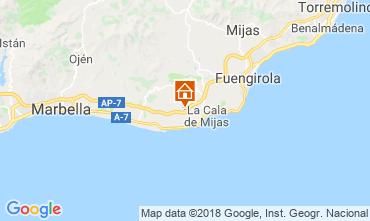 Mapa La Cala de Mijas Apartamento 116746