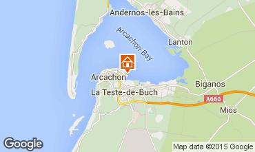 Mapa Arcachon Apartamento 6626